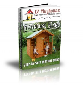 playhouse plans step by step instructions 288x300 Playhouse Plans Special Offer